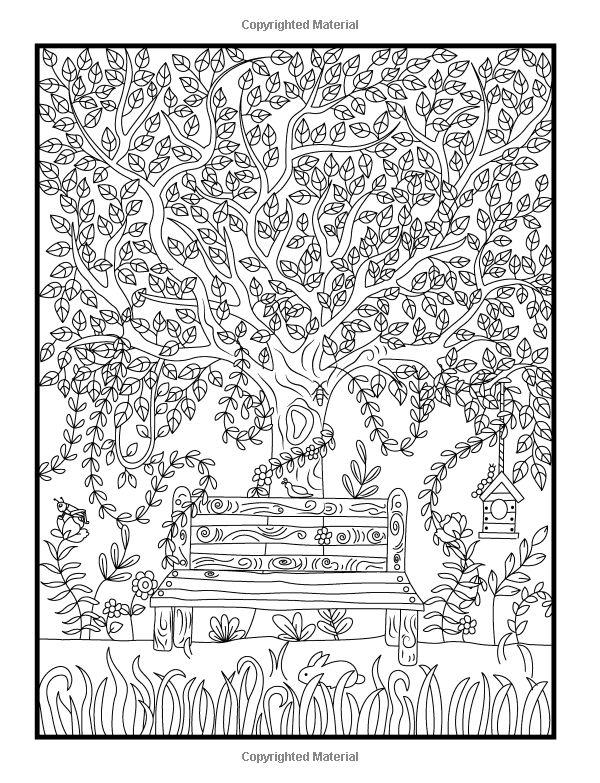 78 Hidden Animals Coloring Page