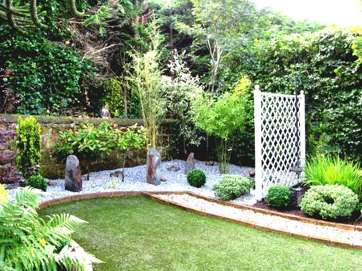 1000 ideas about stone fence on pinterest front for Low maintenance garden design pictures