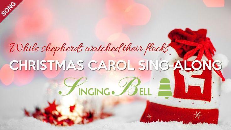 While Shepherds Watched their Flocks | Free Christmas Carols [Sing-Along...