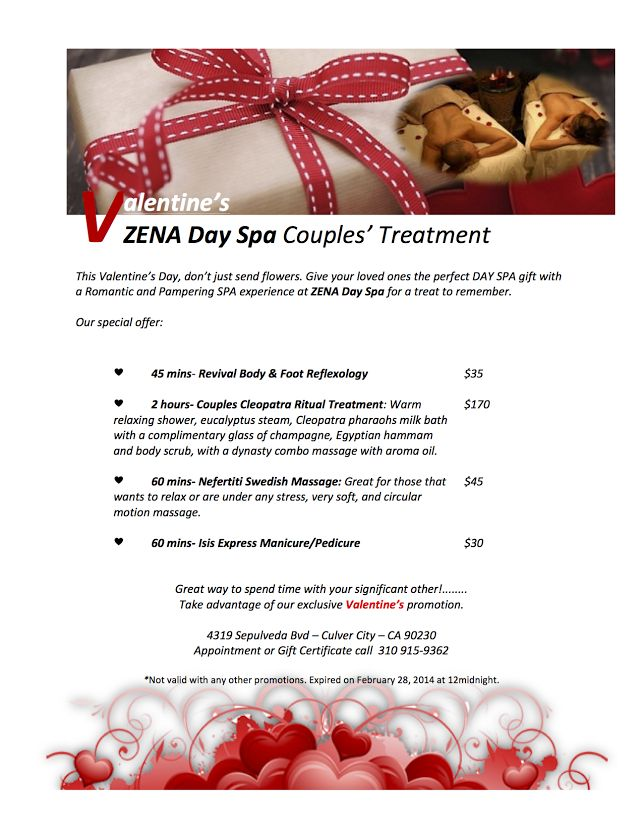 valentine day specials virginia beach