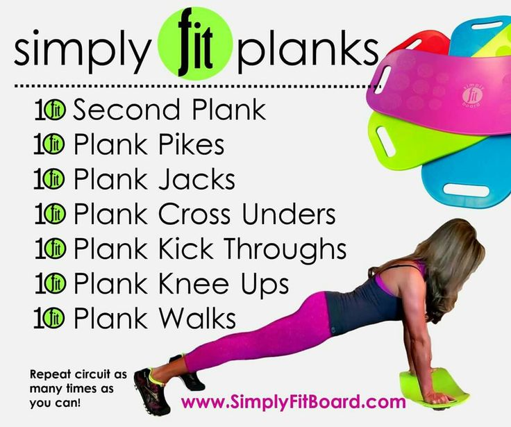 Simply fit planks