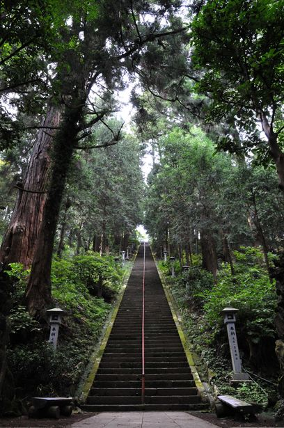 The approach to Saijo-ji temple, Kanagawa, Japan