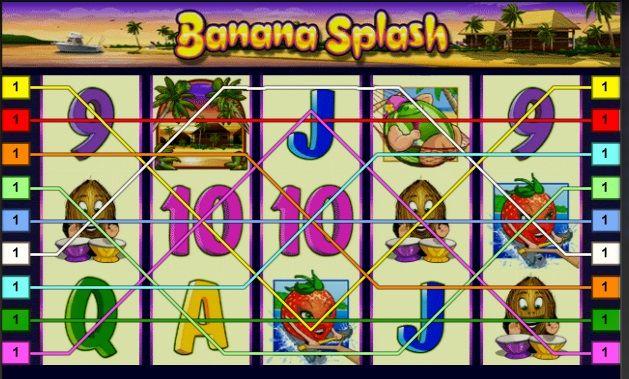 Banana Splash is a great slot from a well-known company Novomatic.  http://playslotscasinos.com/Banana_splash_online_slot.html