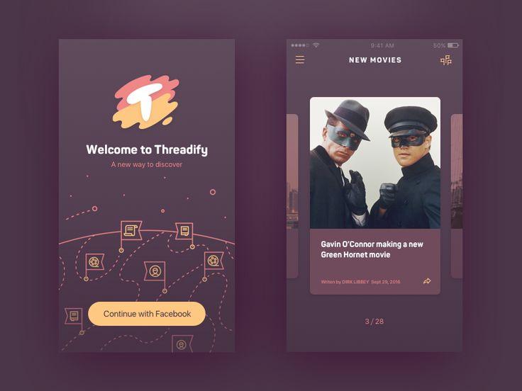 Threadify App by Alex Lafaki