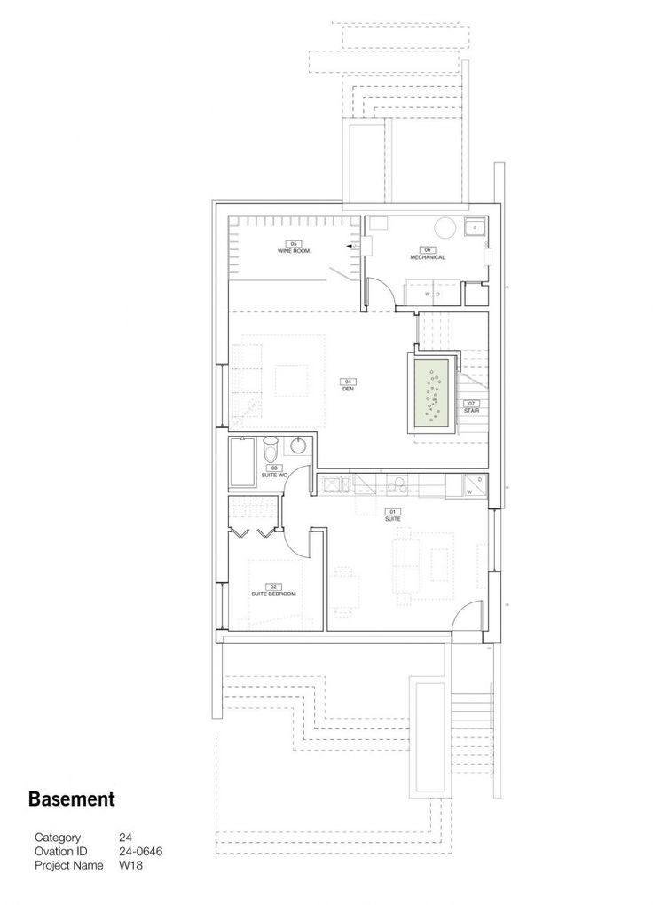 213 best houses images on pinterest floor plans house floor an elegant home full of light in vancouver canada malvernweather Choice Image