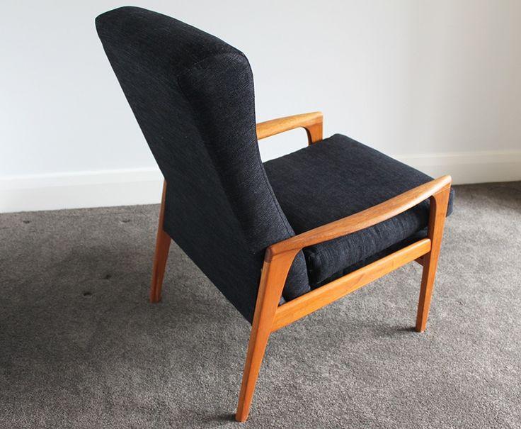 Fler teak armchair