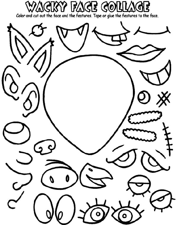 wacky coloring pages - photo #6