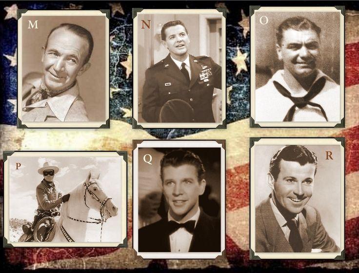 Famous Veterans M. Walter Brennan, Army N. Bob Cummings, Army Air Corps O. Ernest Borgnine, Navy P. Clayton Moore, Army Air Corps Q. Dan Dailey,  Army R. Dennis Day, Navy