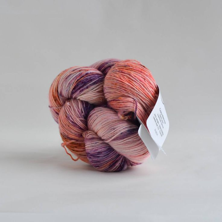 Cottage Merino - Purple Peach
