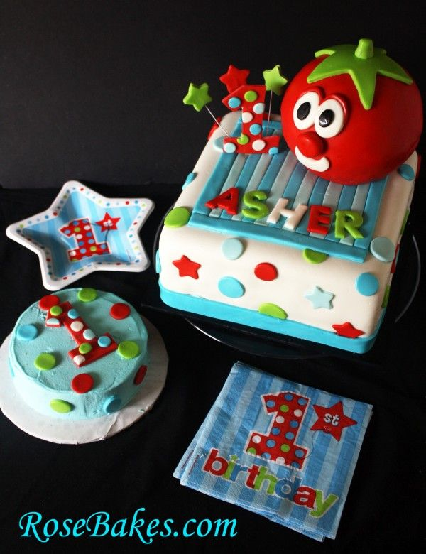 Veggie Tales Cake - I really wanna do this!!!