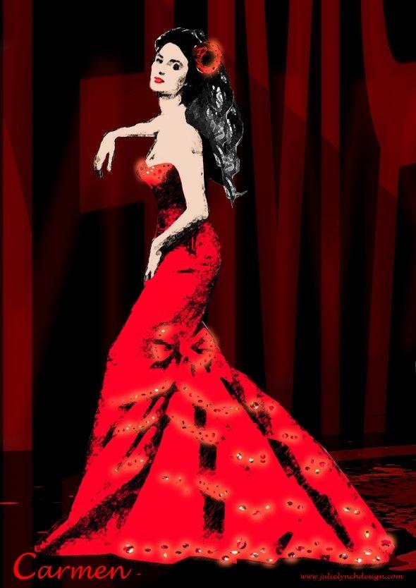 Carmen Costume Design