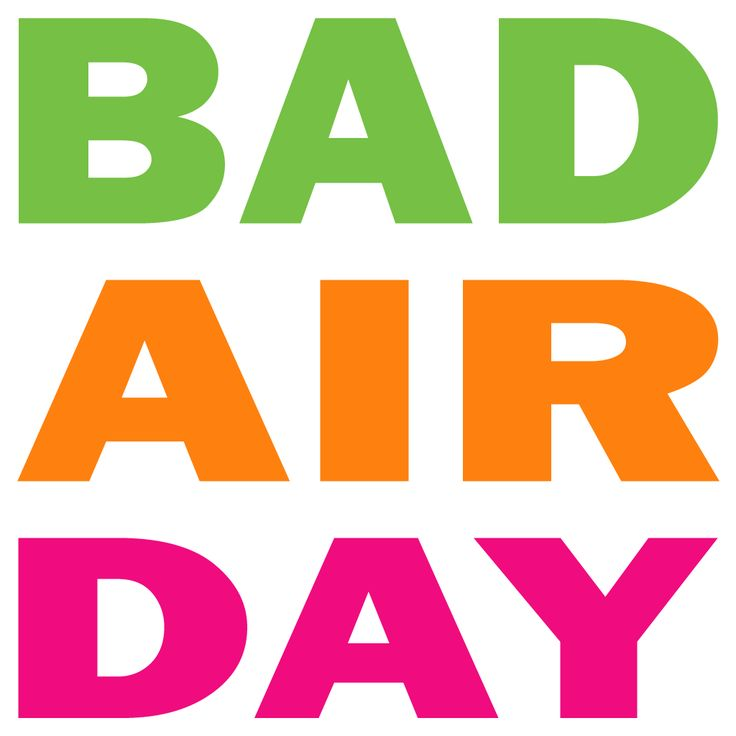 "How polluted is the air you are breathing? Show that you want to breathe clean air and make a clear statement against air pollution and polluters with this ""Bad Air Day"" design."
