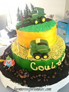 Phone Dump Friday - John Deere Birthday Cake - Farmers Wife Rambles