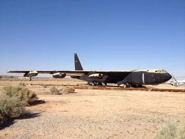 B-52 at Edwards Air Force Base
