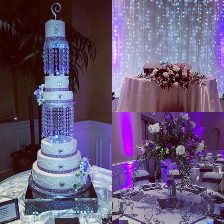 17 Best Images About Purple Silver Wedding On Pinterest