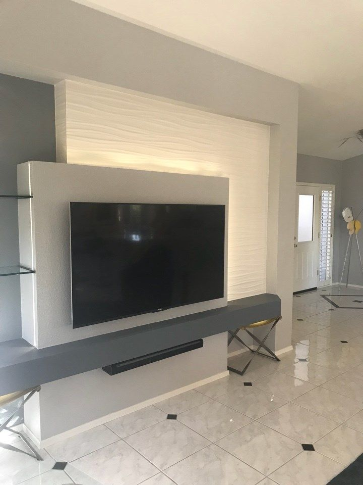 Custom Media Walls That Transform Your Living Area Designed With Needs In Mind Are You Ready To Remodel Give Twd A Call 623 544 1211