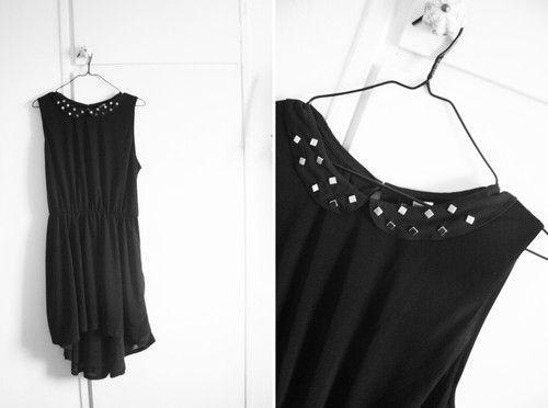 Pimpa klänning med nitar