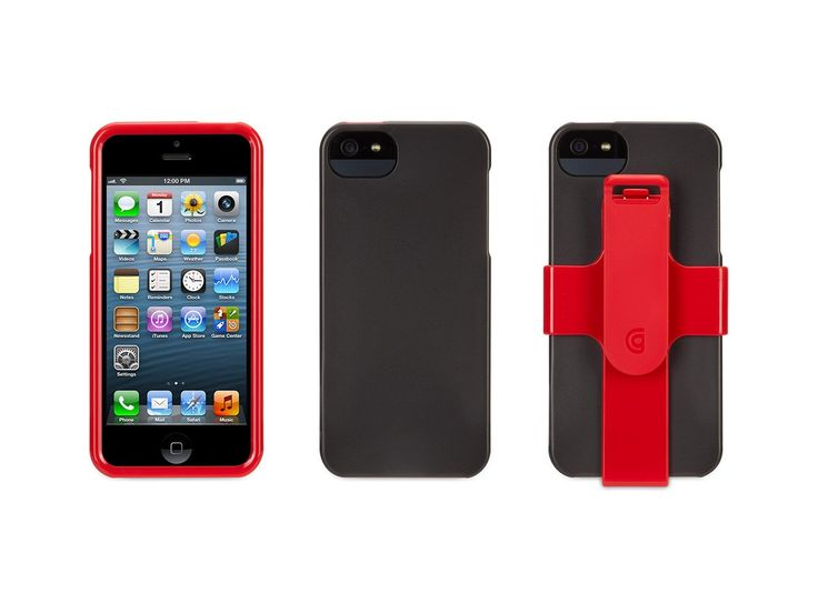 Griffin Red FastClip Armband and Clip for iPhone 5/5s. Official Griffin product. Includes: Fron Frame, Back side cover, Armband, Clip. Also, can be an iPhone stand. Enjoy listening music with your iPhone 5 during you are jogging. Strapya World ships all items directly from Japan.