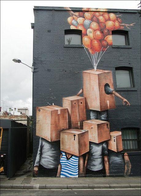 Fintan Magee #streetart