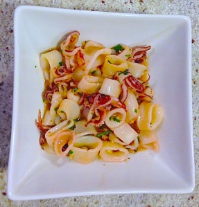 Calamari with Garlic and Parsley | Recipes: Seafood Entrees ...