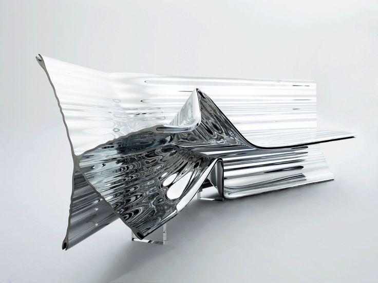 project:EXTRUSIONS Location:London, UK designer:Thomas Heatherwick date:2009 Extruded Aluminium