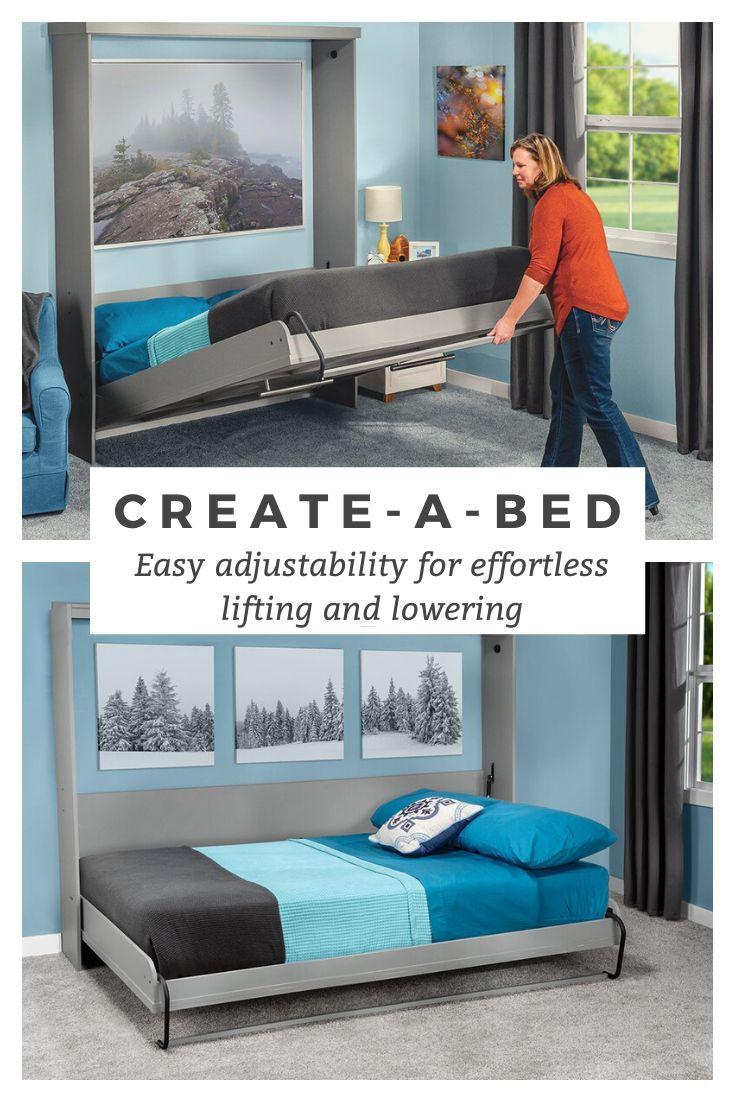 Rockler CreateABed Adjustable Deluxe Murphy Bed Hardware
