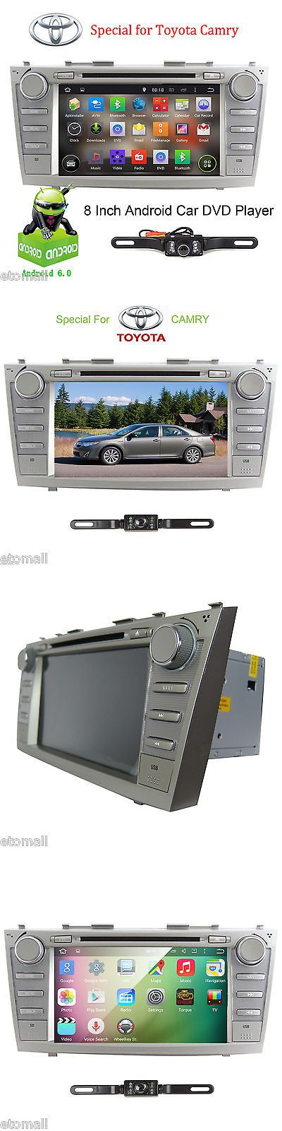 Video In-Dash Units w GPS: Gps Navigation 8 Car Dvd Player Wifi Radio For Toyota Camry 2007,2008,2009,2011 -> BUY IT NOW ONLY: $228.98 on eBay!