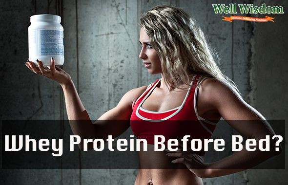Whey Protein Before Bed – Is It a Good Idea?