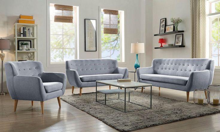 Sofa Im Skandinavischen Stil Wahlweise Als 2 Und 3 Sitzer Oder Als Sessel Der Perfekte Begleiter Im Corner Sofa Small Living Room Small Living Room Small Sofa