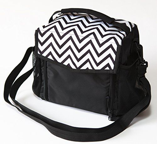 Lunch Bag by Freddie and Sebbie - Luxury Insulated Reusable Black Lunch Bag - This Insulated Lunch Bag Is The Perfect Solution For Keeping Anything Cool - Can Be Used As A, Lunch Bag For Women, Lunch Bag For Man, Lunch Bag For Kids, Lunch Bag For Girls, Lunch Bag For Boys, Lunch Bag Cooler Or Lunch Bag Container - The Perfect Lunch Bag For Any Ocassion - Protect Your Investment - Comes With A Lifetime Guarantee Freddie and Sebbie…