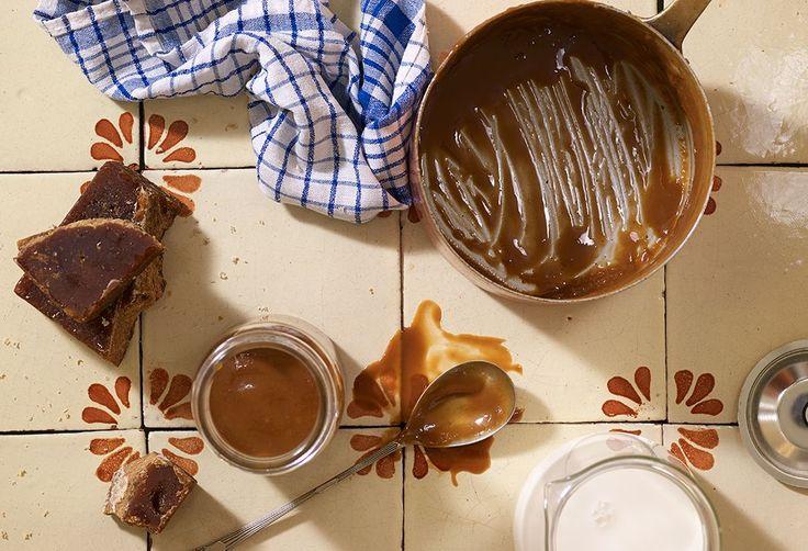 Homemade Cajeta or Dulce de Leche
