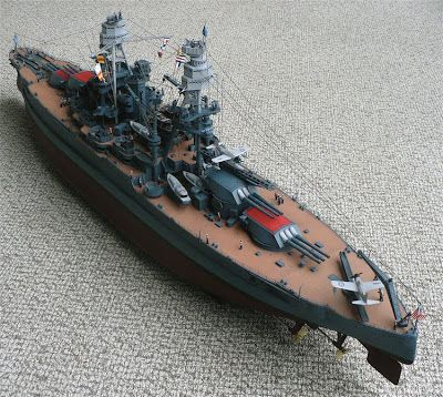 Here are some images of Trumpeter's 1/200 scale USS Arizona (BB-39) Battleship. Probably the most detailed and largest Arizona  kit ...
