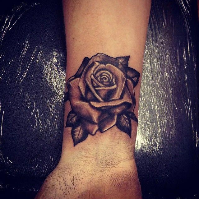 Flower Wrist Tattoo Flowerwristtattoomen Rose Tattoos On Wrist Small Rose Tattoo Rose Tattoos For Men