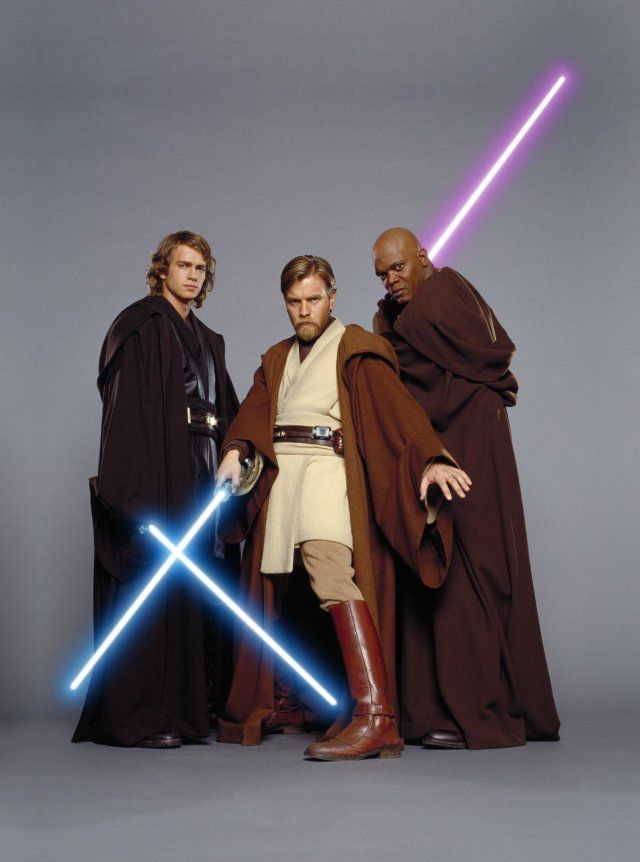 Anakin, Obi-Wan & Mace
