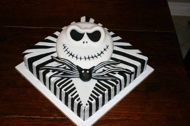 Jack Skellington birthday cake - what's not to love?!