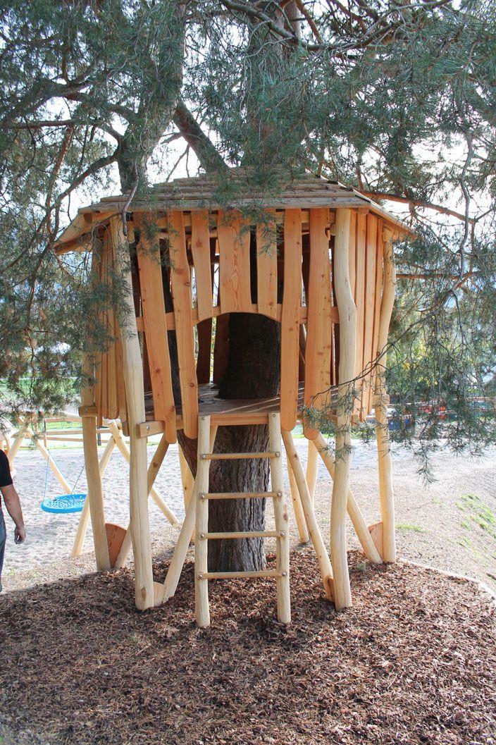 casa sull'albero 1 : L' Officina Del Legno-parchi gioco e arredo urbano