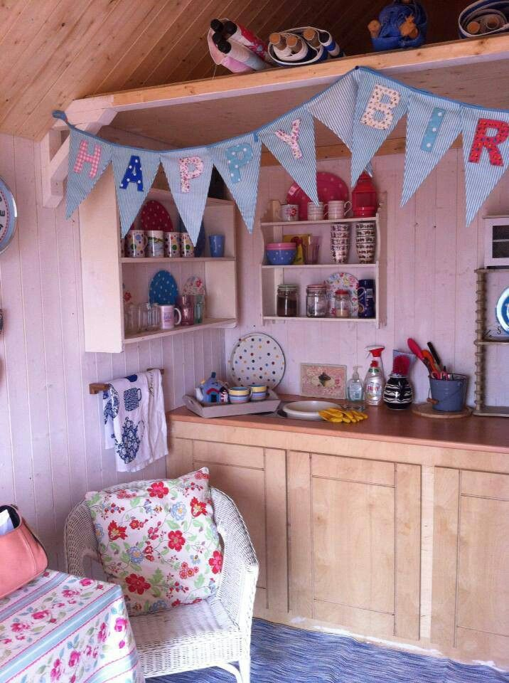 Little beach hut co. Mersea