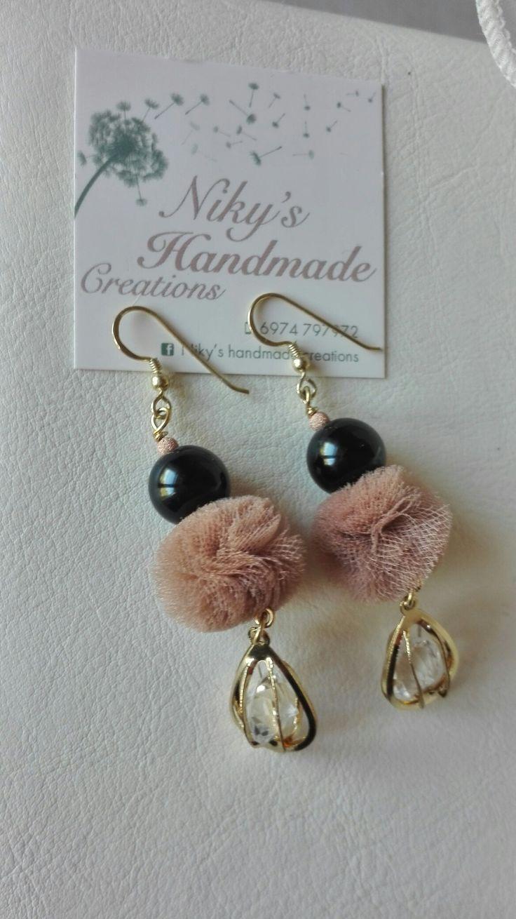 "Earrings""Nicky's handmade creations"""