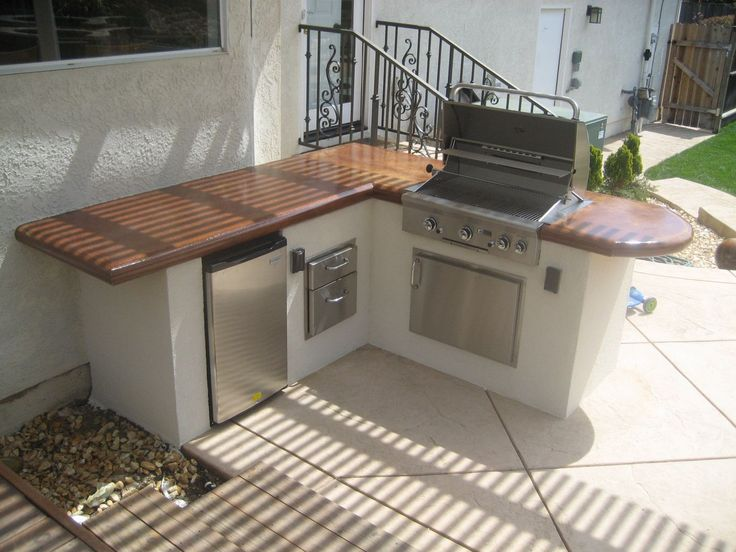 30 best images about built in bbq on pinterest granite for Spanish outdoor kitchen designs