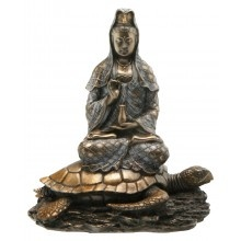 Quan Yin Statue on a Turtle