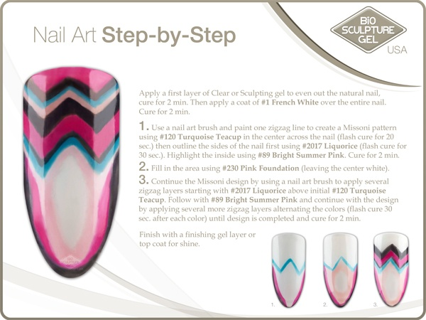 Missoni step-by-step