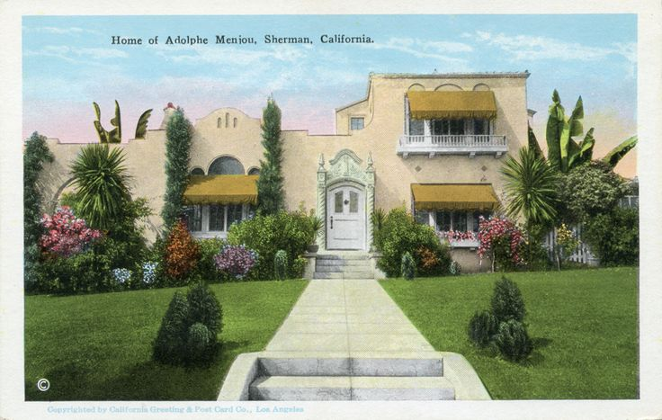 Home of silent film actor Adolphe Menjou