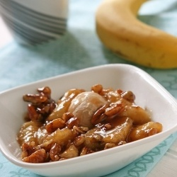 Nonalcoholic Bananas Foster | Things I Want To Eat | Pinterest