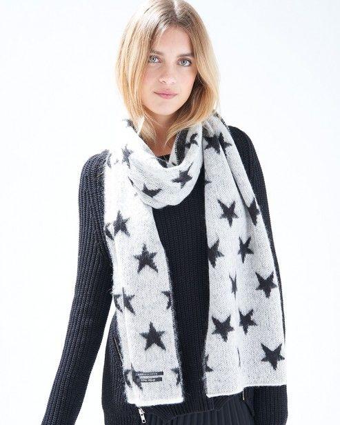Fluffy Scarf In Star Design #ARWishlist