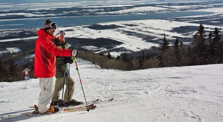 Mont Sainte-Anne #SommetsStLaurent #montsainteanne Ski // Ski Quebec