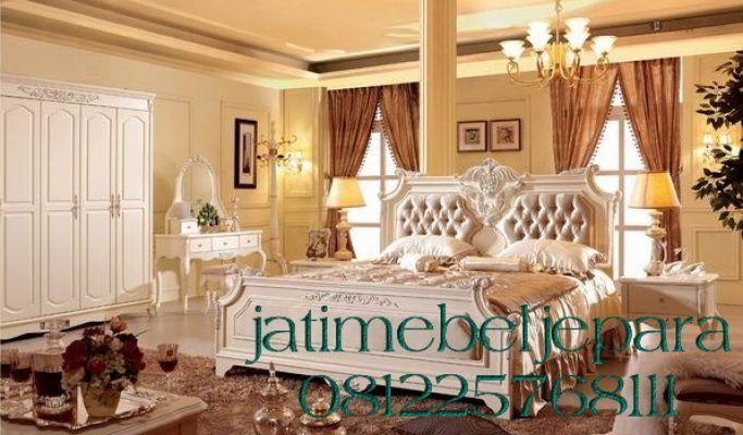 Set Tempat Tidur Mewah Klasik Italiano