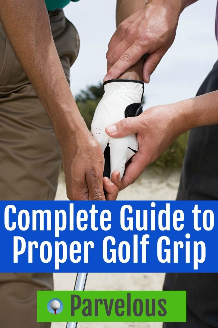 HOW TO GRIP A GOLF CLUB | Golf tips for beginners, Golf ...