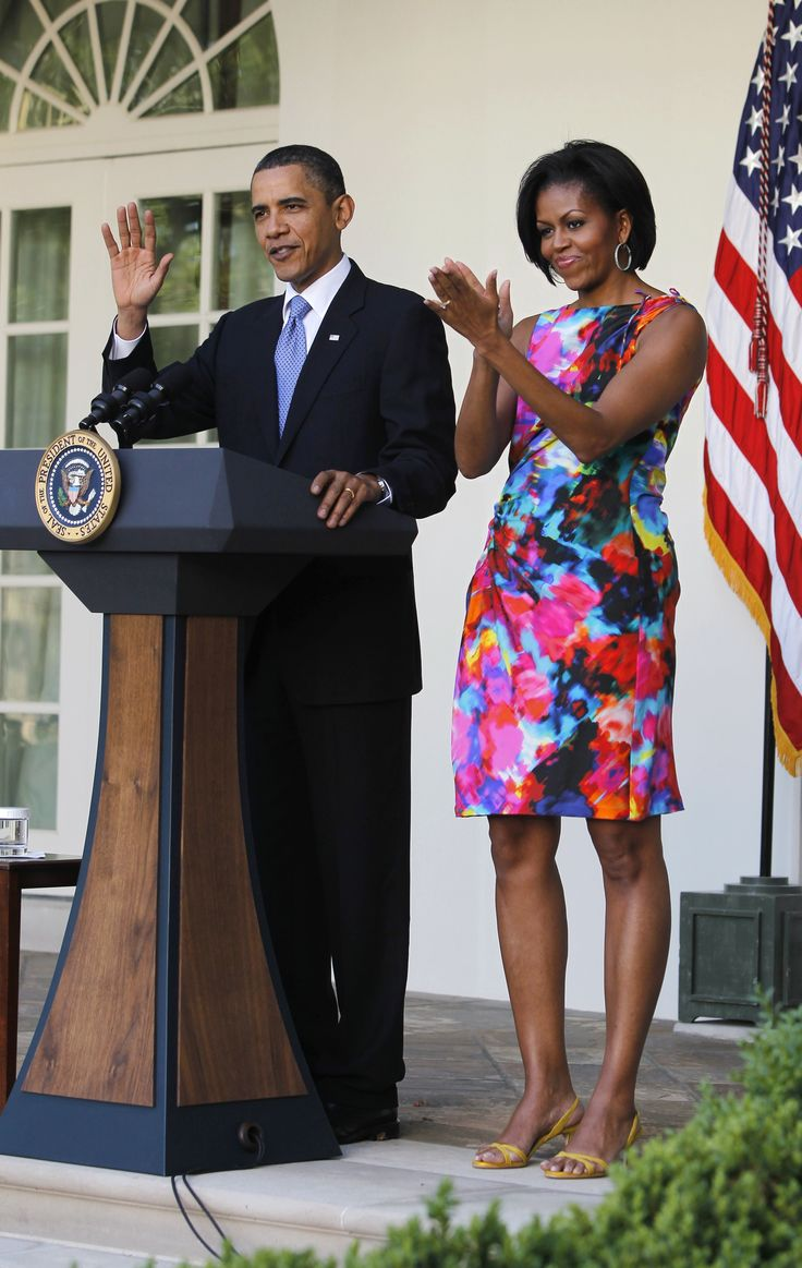 President barack obama first lady michelle obama