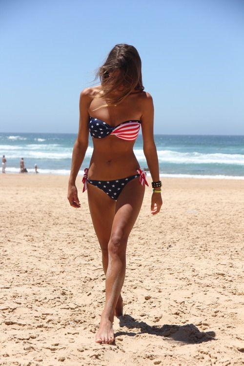 cute bathing suit www.AmericaPartyGear.com