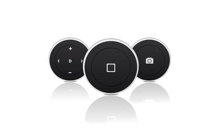 Satechi Bluetooth Button Series | Fernsteuerung für Siri, Musik Apps & Selfies #remote #bluetooth #iphone #siri #selfie